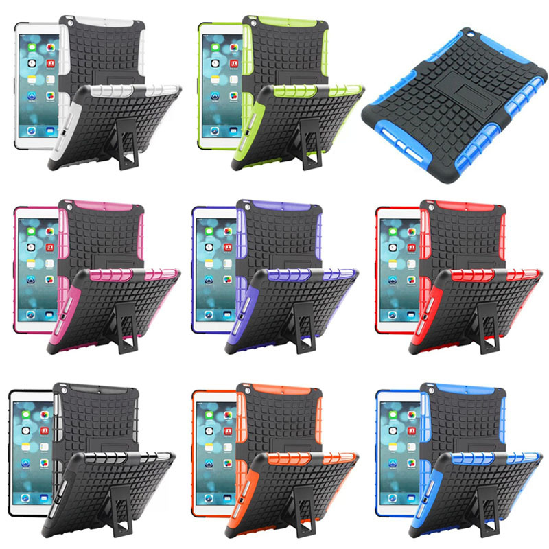 Stylish 2 in1 hard case for iPad mini With Stand,for ipad mini case