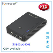 10000 mah smart mobile power bank with powerful display