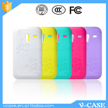 VCASE New soft silicon phone cover case for samsung galaxy ace plus s7500