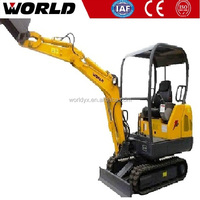 1.8ton mini crawler type digger for construction