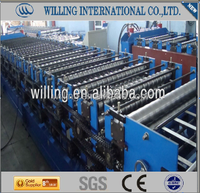 high quality automatic roof and war double deck sheet roll forming machine