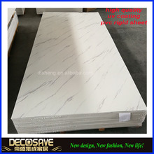durable interior home deco faux marble pvc imitation stone polyurethane wall panel