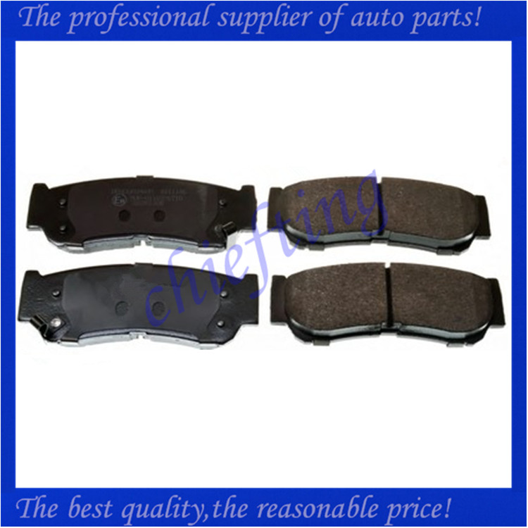 D1297 58302-2BA20 3752 bus brake pad for hyundai santa fe
