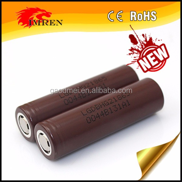 2017 IMREN original LG hg2 18650 3000mah 20a 3.7v rechargebale battery for Vape