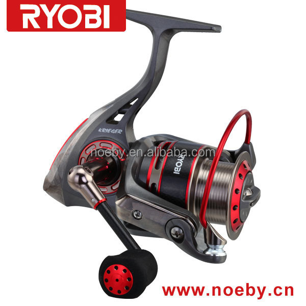New Arrival Hot Sell RYOBI KRIEGER Serious Aluminum Spool Saltwater Jigging Spinning Fishing Reels