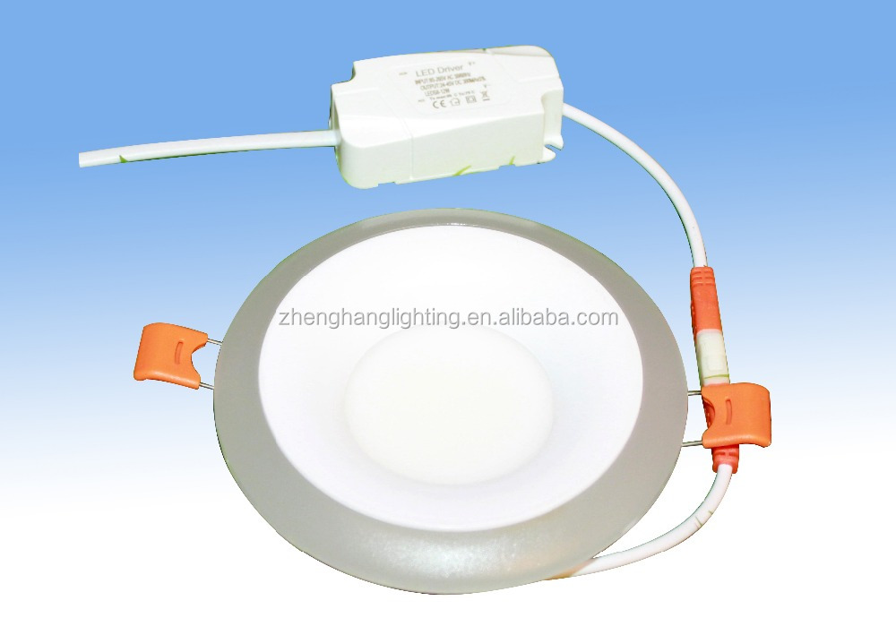 double color inter 4W+outer 2W led panel light