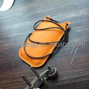 Handmade Band Custom Vintage Genuine leather mobile phone case