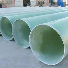 100M Chemical Resistant Industrial Grp Glass Reinforced Plastic Exhaust Pipe