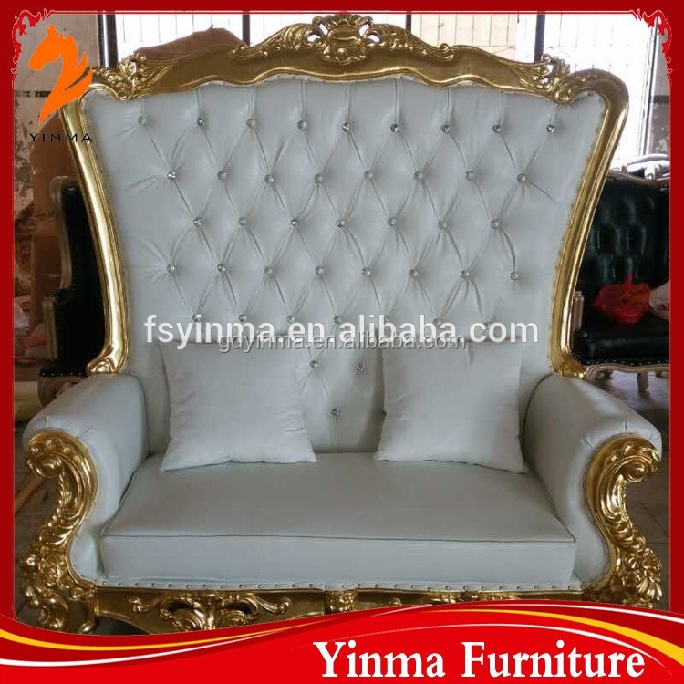 Foshan factory wholesale best price palace king chair