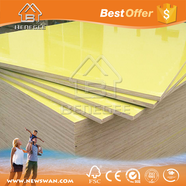 PVC Coated Plywood / PVC Plywood Sheet for Construction