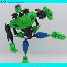 car robot toy figure for sales/plastic car man toy for boy/transform robot car toy action figure