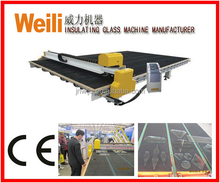 WL-CNC4028 Jinan WEILI Automatic Glass Shape Cutting Machine Price