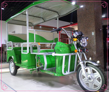 commercial electric tricycle with passenger seat