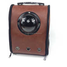 Wholesale Airline Approved Leather Pet Carrier For Dog