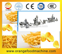 Fully-automatic Frying & Flavoring system for Compound potato Chips