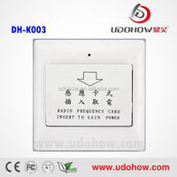 Low power new model electric timer switch manufacture,high efficient electric switch for hotel or home(DH-K003)