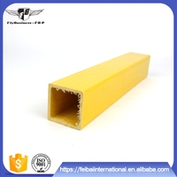 Factory Supply Pultruded Structural FRP GRP Fiberglass Square tube