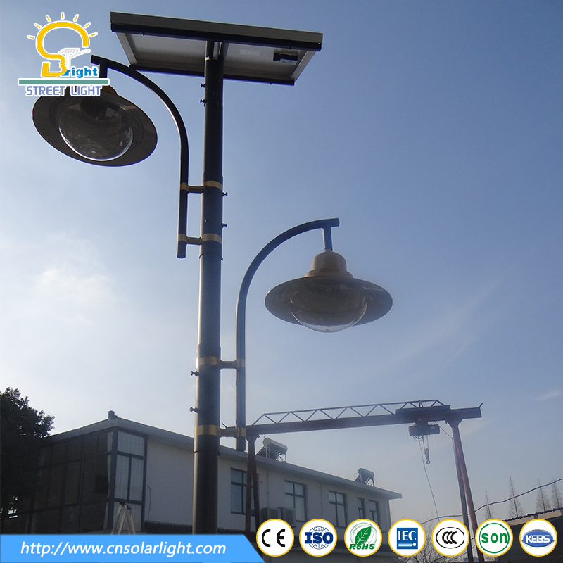 aluminum casing new design powerful solar light for garden