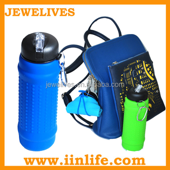 Silicone water bottle Companies looking for representative