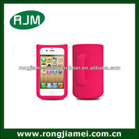 Fashion Design Mobile Phone Wallet Case For Iphone4/4s