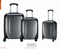 Zipper Frame Abs trolley Luggage and Suitcase