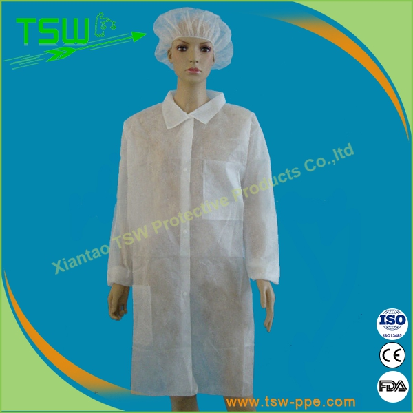 Supply all kinds of single use consumables / Nonwoven disposable lab coat designs