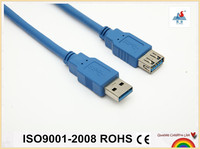 6FT USB3.0 AM TO AF EXTENTION CABLE BLUE