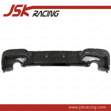 2012-2014 PERFORMANCE STYLE CARBON FIBER REAR DIFFUSER FOR BMW 1 SERIES F20 M135I (ONLY FOR M-TECH BUMPER)