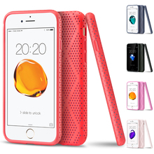 2017 Newest Fashion Design Plastic Shockproof Back Cover Case for iPhone 7 Case