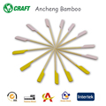 Colorful decorative bamboo boat oar cocktail picks sticks