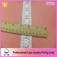 pleated lace trim/pleated lace trim white/wholesale pleated lace trim white