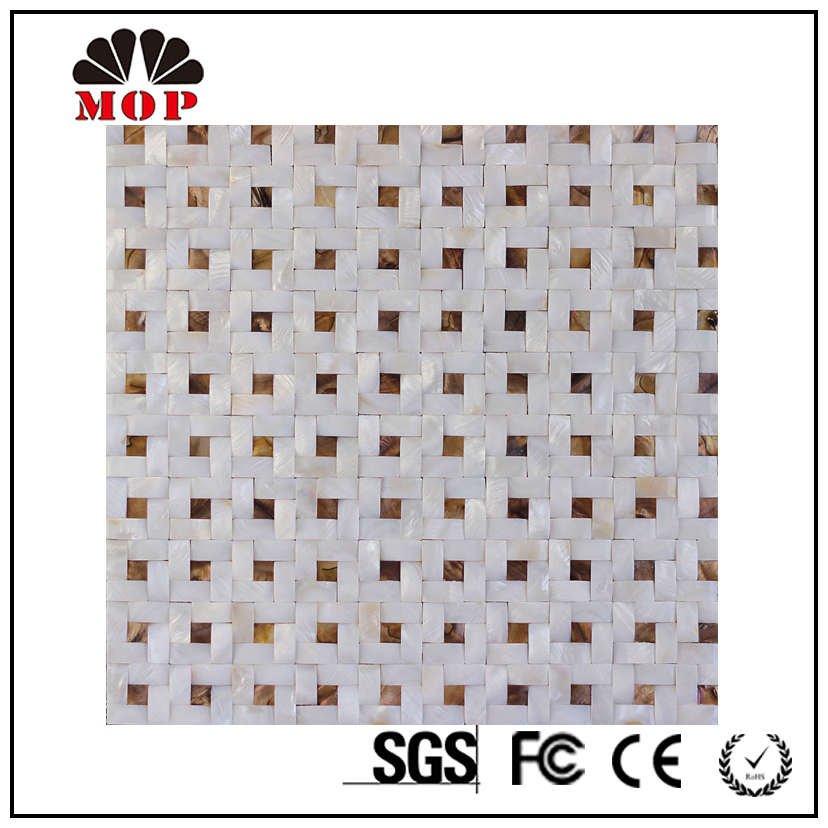 Bathroom Wall Tile Designs Mosaic Picture Decorative Building Material Shell Chip Board