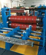 automatic slitting machine for steel coils roll-to-roll