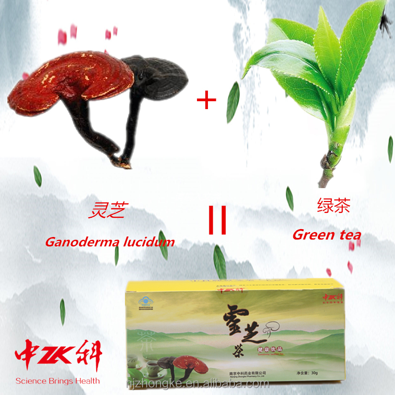 2016 new product Cancer Protector Reishi Extract Ganoderma Excel Herbal Green <strong>Tea</strong> fitne <strong>tea</strong>