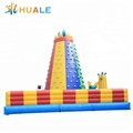 Colorful sport adult inflatable rock climbing wall for sale
