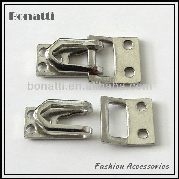 trousers hook and eye fastener