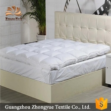 Soft feather fabric bed mattress protector bargain price
