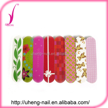 Customized printed pattern thinkness 3.5mm nail file
