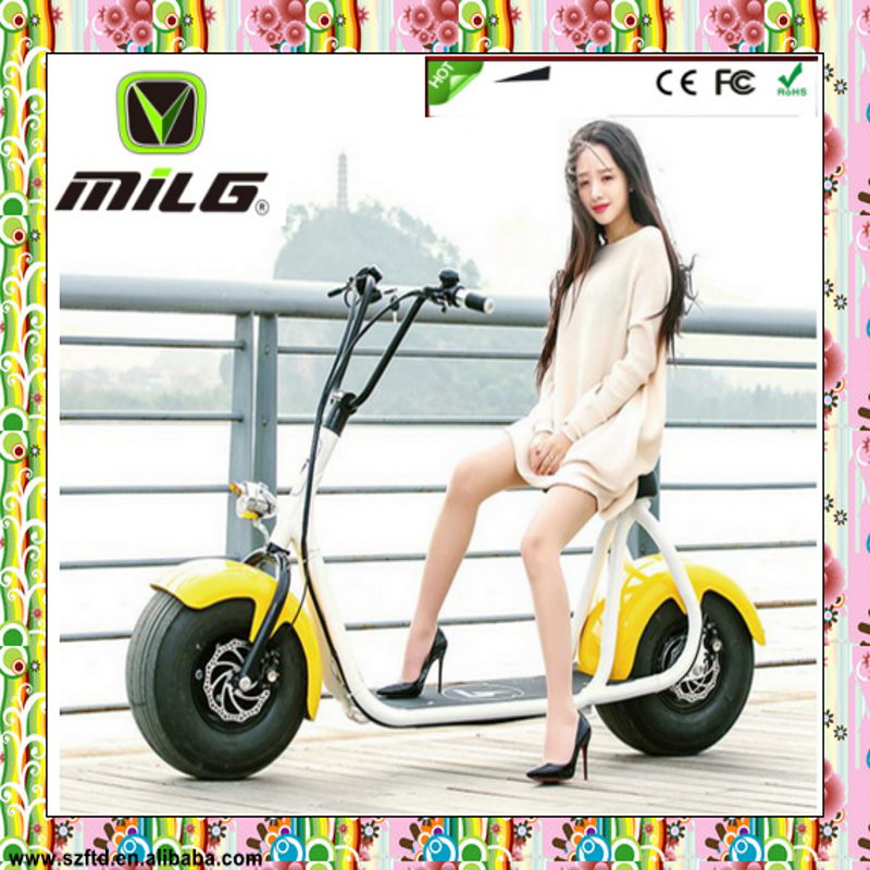 2016 popular Harley style 1000W electric scooter price in india With CE