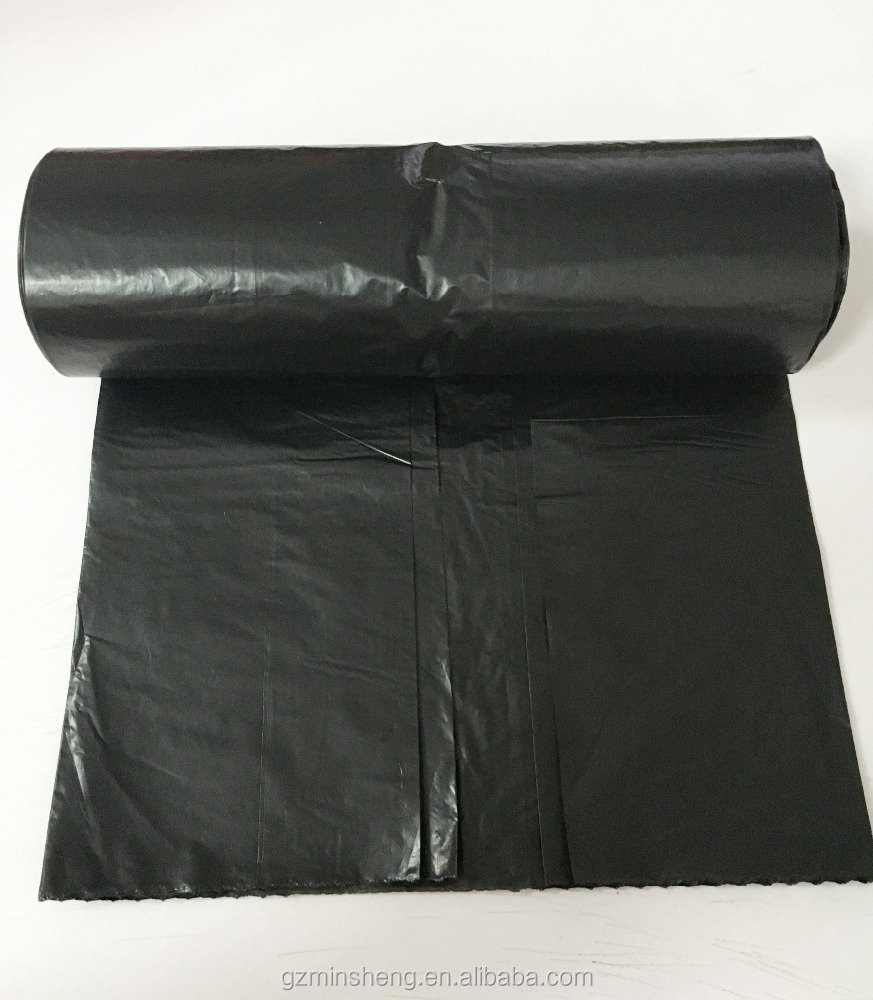 Factory Custom Large Plastic Garden Waste Bag Refuse Sacks Roll