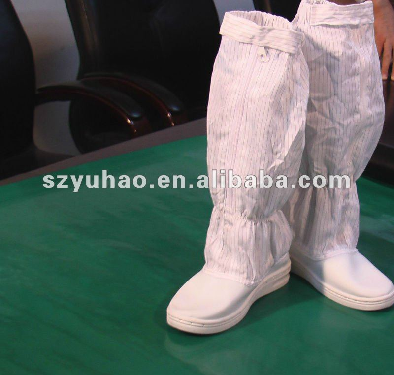 Industrial used Cleanroom esd boots / esd shoes