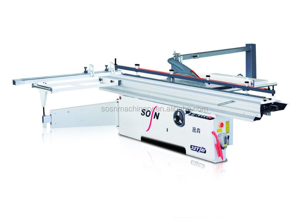 Precision Used Sliding Table Panel Saw With Scoring Blade Sliding Table Saw Machine