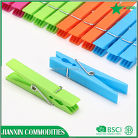 manufactures plastic drying clothing clips of JX1007