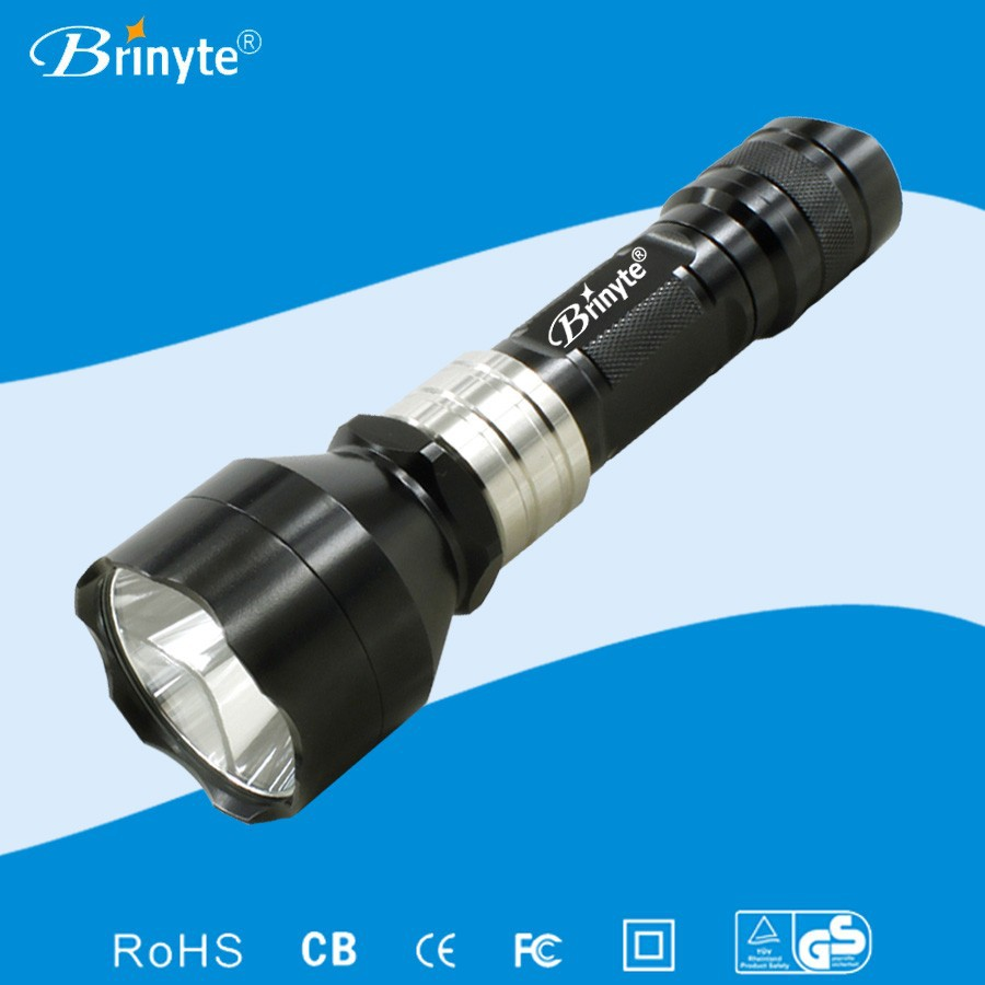 B78 red green led most powerful flashlights for hunting