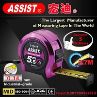 Best selling high quality professional retractable 5m tape measure,free sample tools