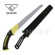 Precision ground addressive pull cut pruning saw