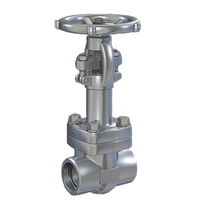 ANSI Standard Reliably Sealing Forged Gate Valve for Pipes