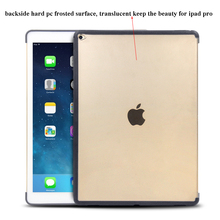 Hot Sales and Fashion original 1:1 Slim Back Cover For iPad pro 12.9 inch case