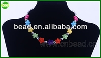 2015 newest fashion jewelry necklace set factory china supplier hand painted necklace