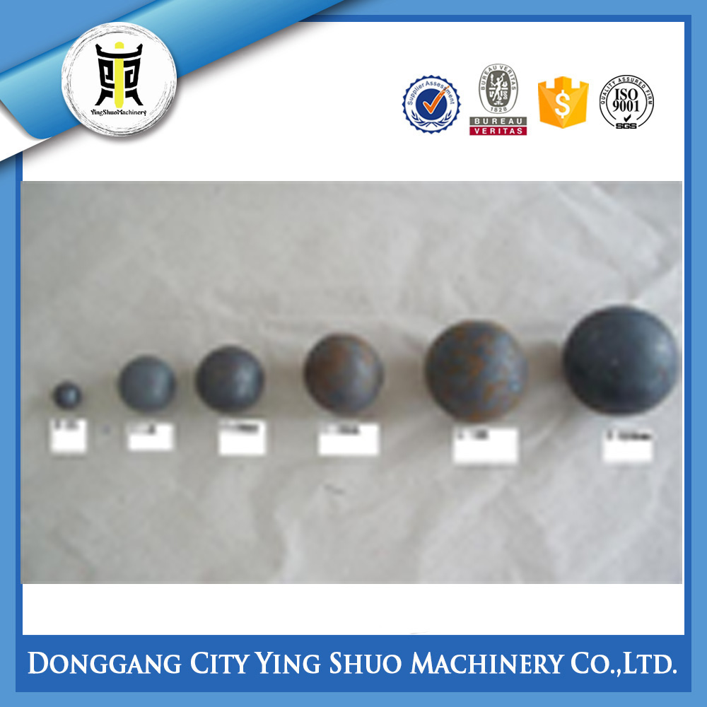 high hardness forged grinding steel balls for ball mill